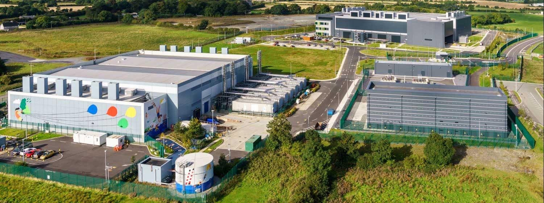 Un centre de données Google (Dublin, Irlande)