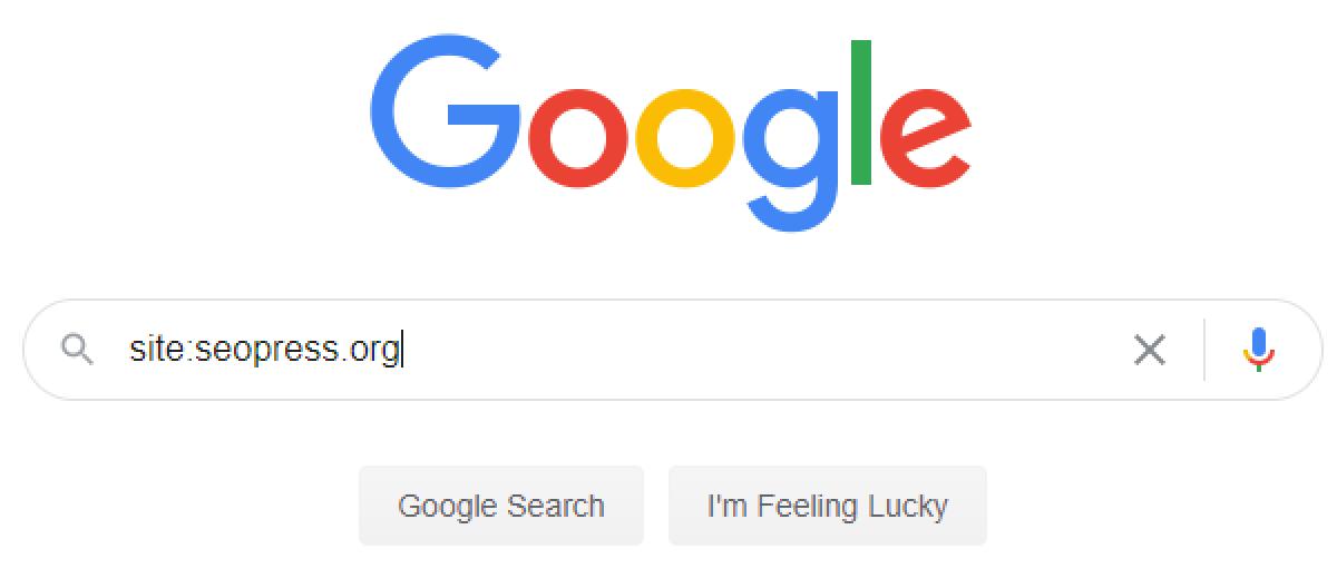 Recherche Google avec la commande site