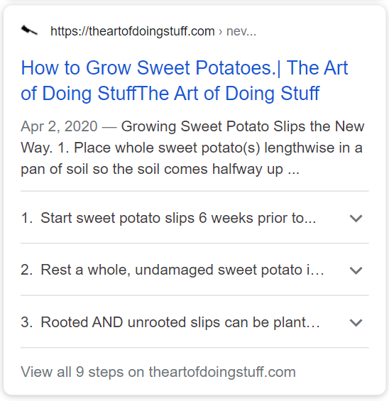 https://www.theartofdoingstuff.com/never-grow-sweet-potato-slips-this-way-again/ utilise le schéma HowTo.