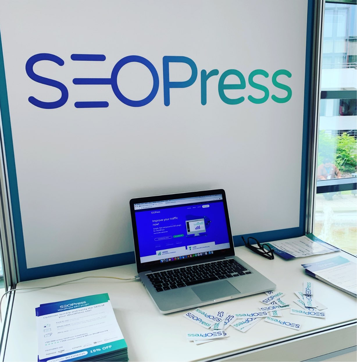 SEOPress WordCamp Europe - Berlin