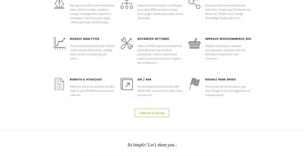 SEOPress Website in 2018