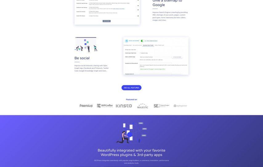 SEOPress website (current version)