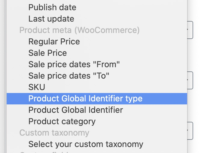 SEOPress Barcode Fields for Product Schema