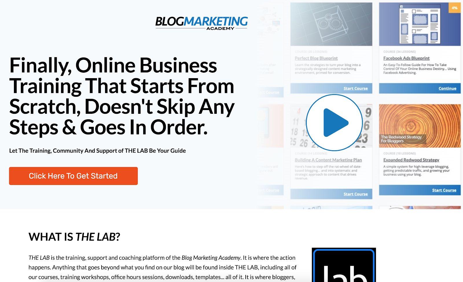Blog Marketing Academy