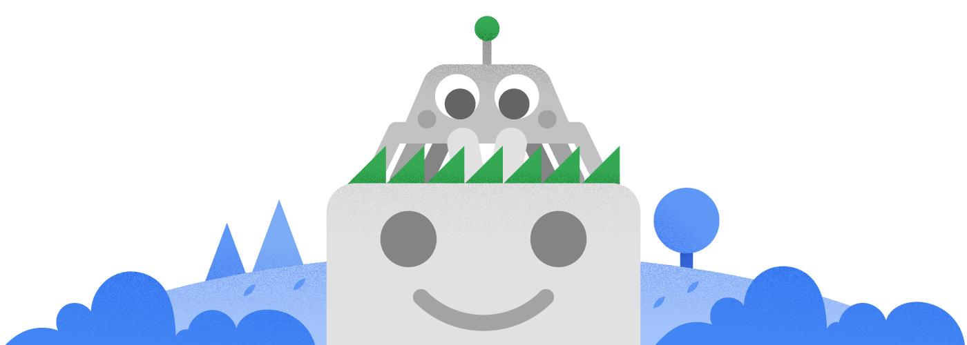 Googlebot Mascot